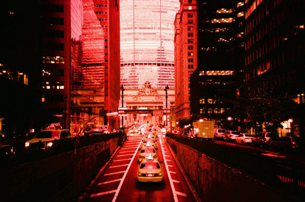 grand central station on cross processed fuji film by wendy g photography