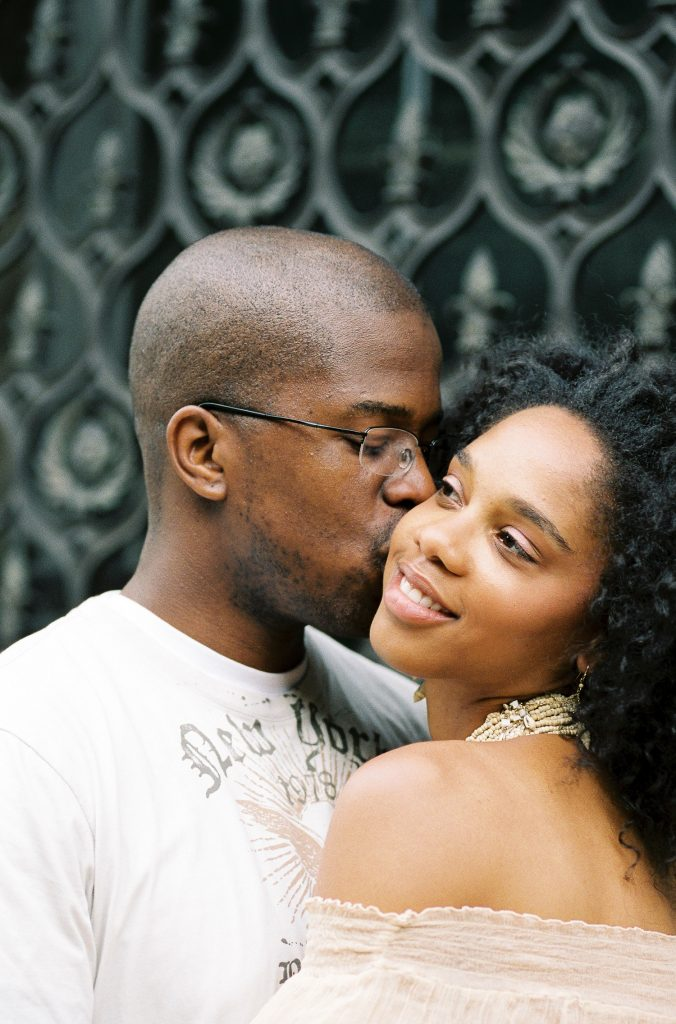 harlem engagement portraits by wendy g photography