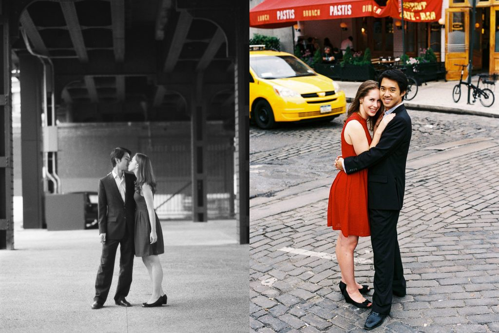 greenwich village engagement photos by wendy g photography