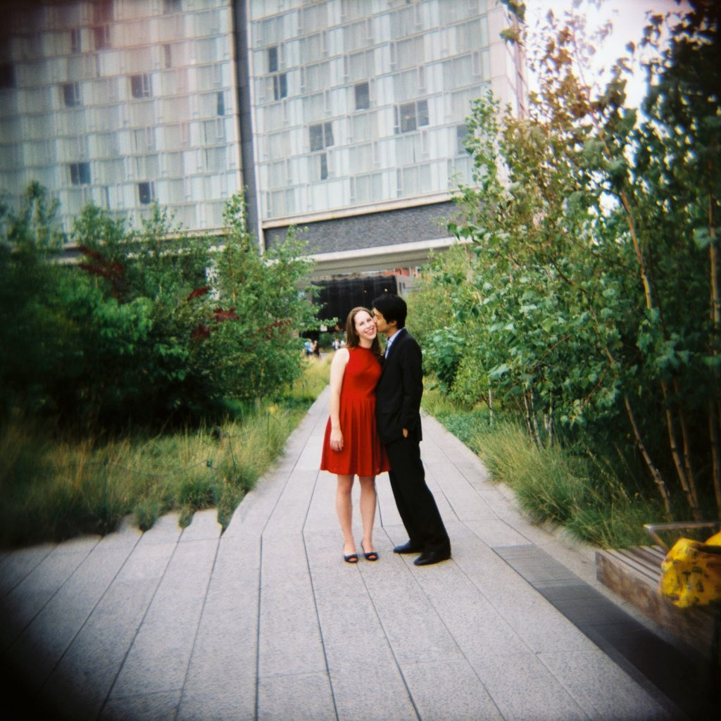 high line engagement portraits by wendy g photography