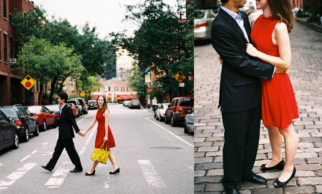 west village engagement session by wendy g photography