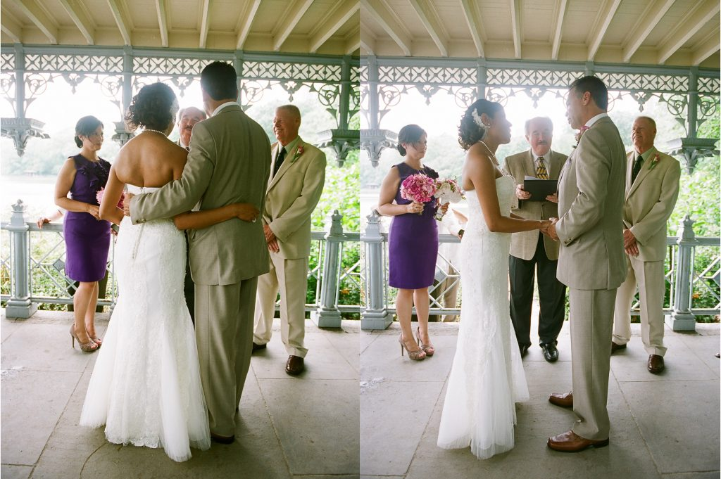 small wedding ladies pavilion central park wendy g photography