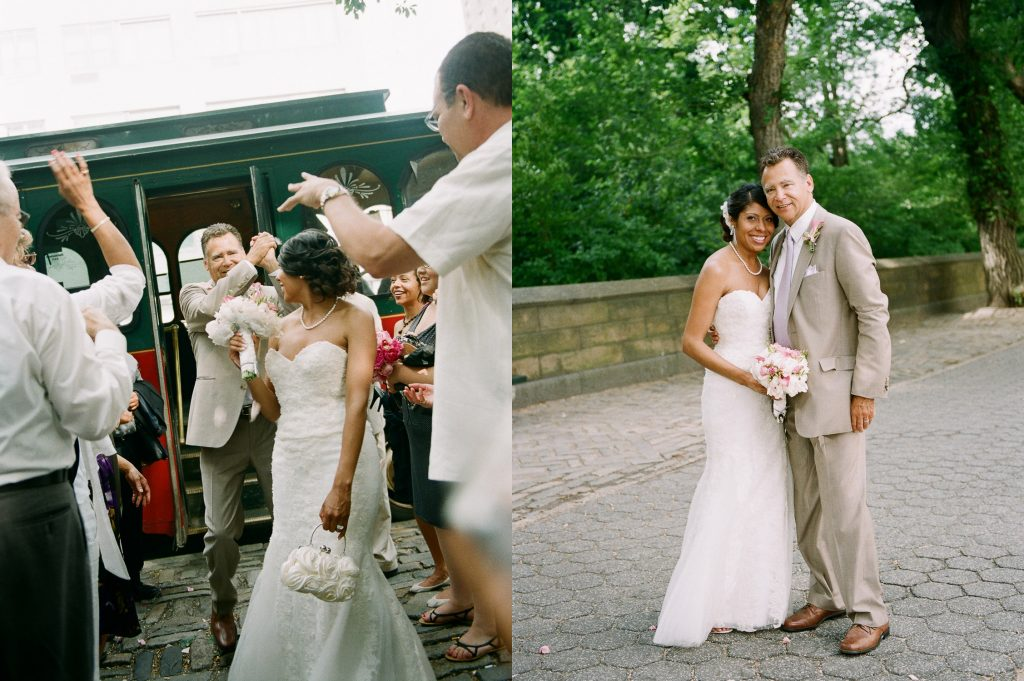 small wedding central park wendy g photography