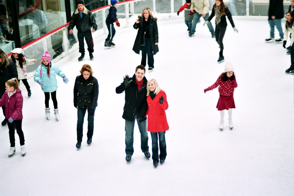 reaction to Rockefeller ice rink proposal by wendy g photography