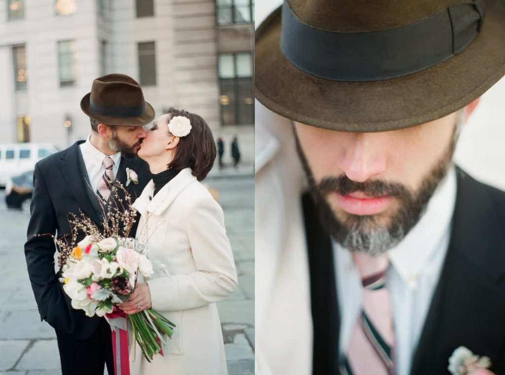city hall brooklyn bride elopement by wendy g photography