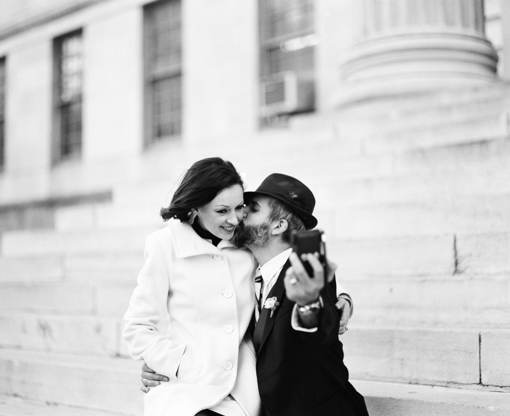 downtown city hall brooklyn elopement by wendy g photography