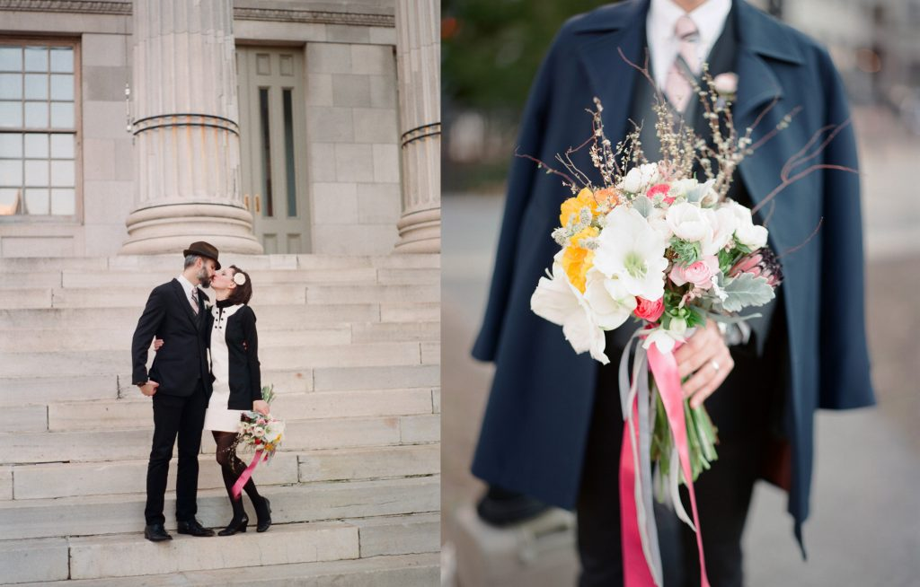 dumbo brooklyn elopement by wendy g photography