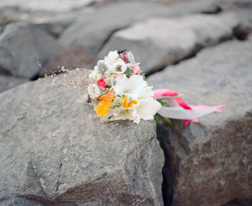 brooklyn bride elopement bouquet by wendy g photography