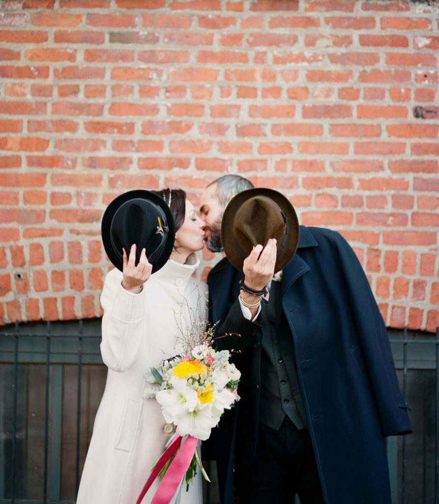 dumbo brooklyn elopement wedding photography by wendy g