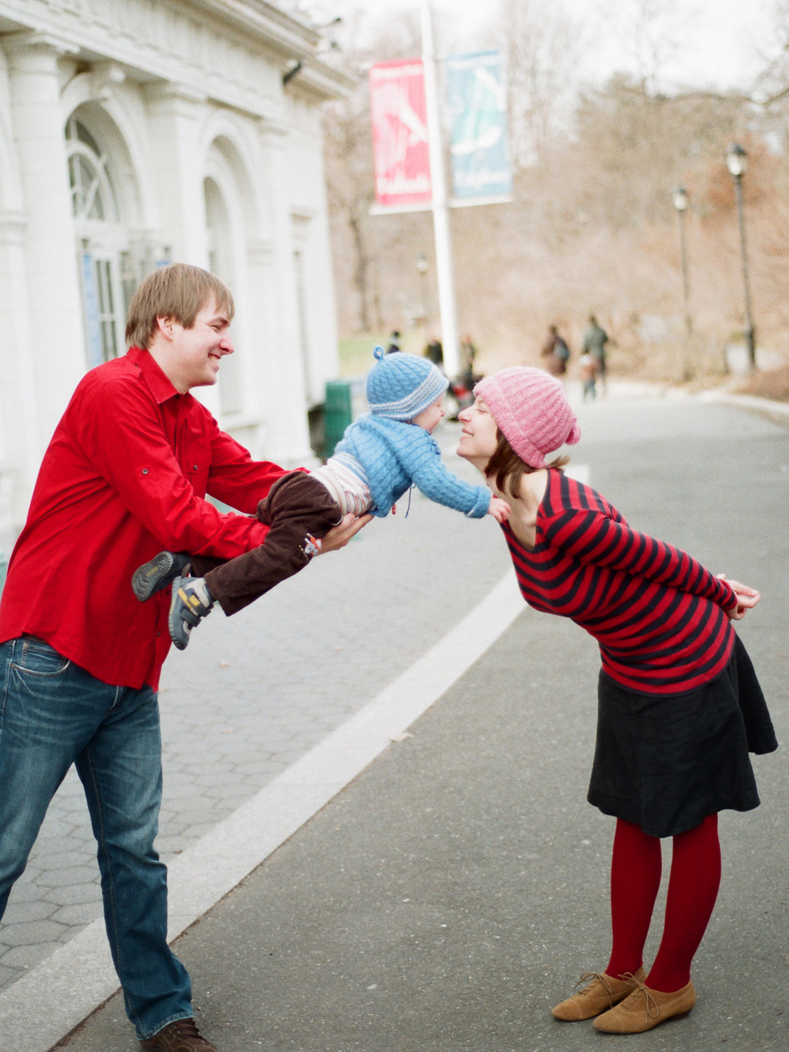brooklyn prospect park family portraits by wendy g photography