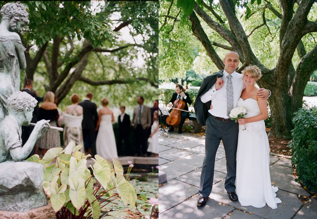 nyc conservatory garden wedding photos by wendy g photography