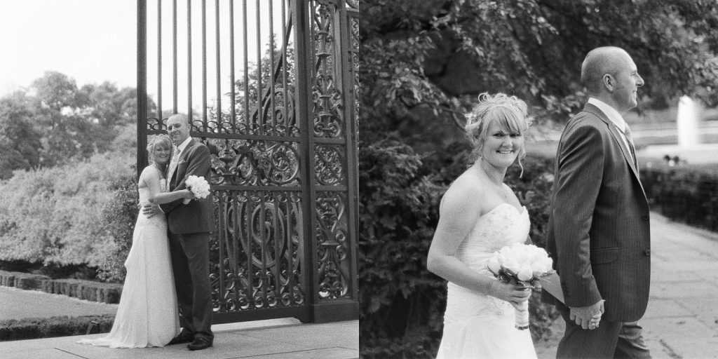 nyc conservatory garden BNW wedding photo by wendy g photography