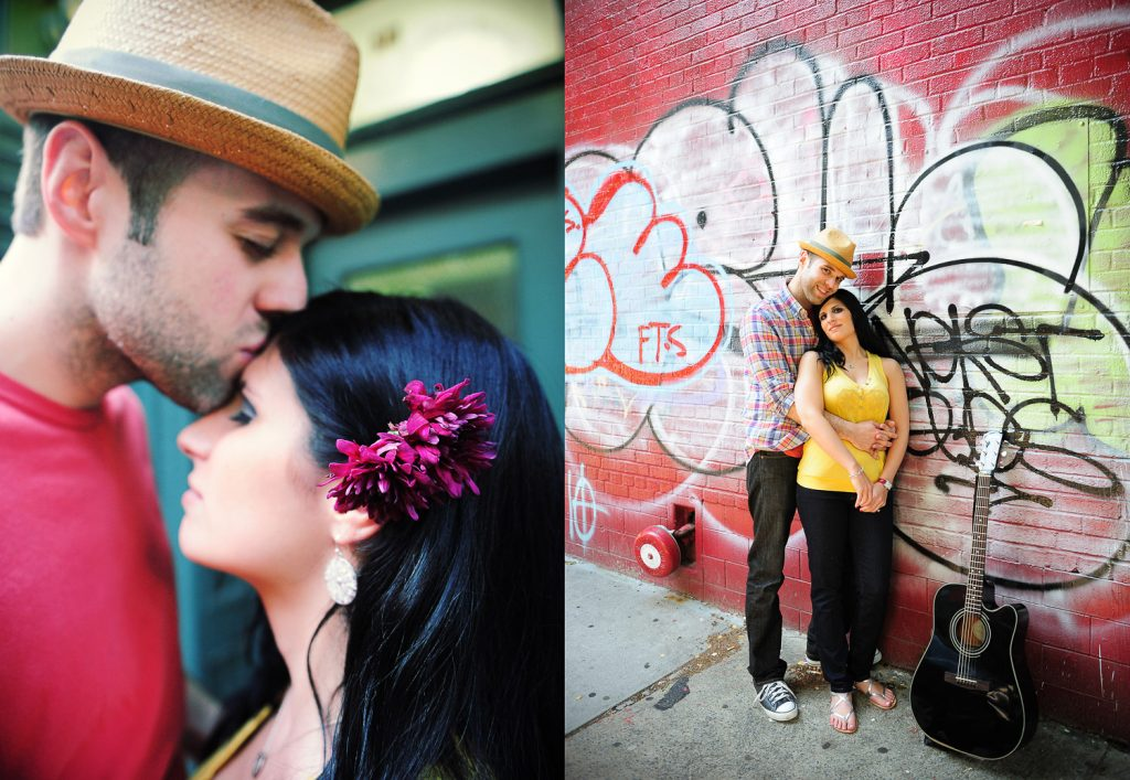 nyc les lower east side engagement by wendy g photography