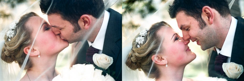 cop cot central park wedding kiss by wendy g photography