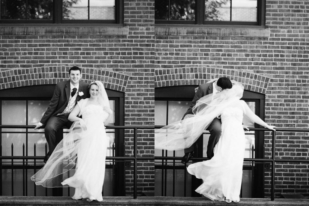 black and white wedding photos in brooklyn by wendy g photography