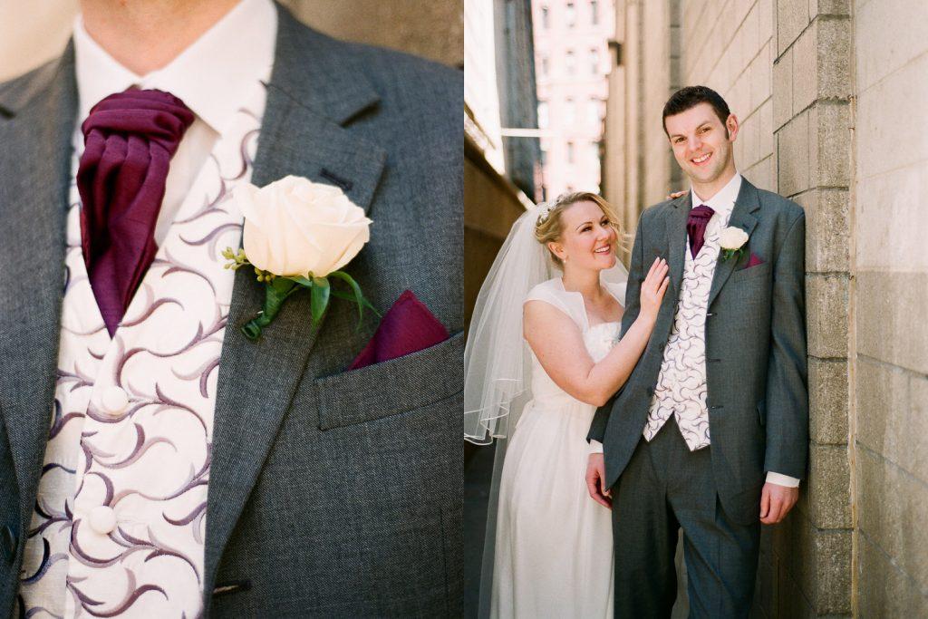 dumbo wedding couple portraits by wendy g photography