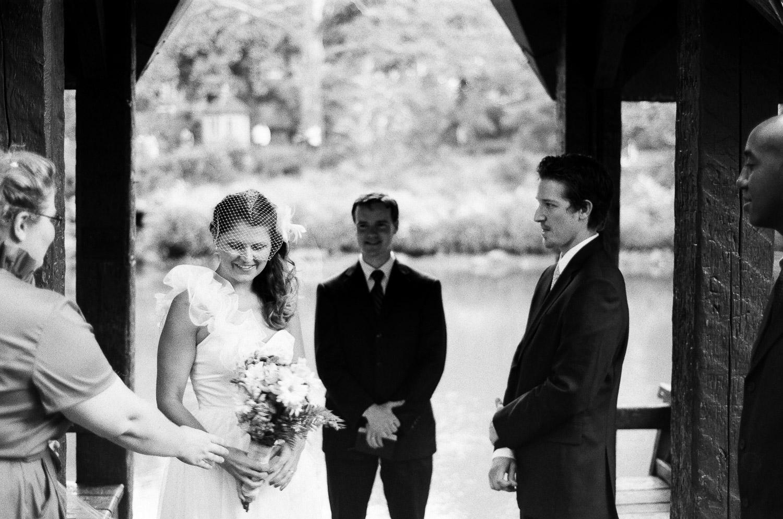 wagner cove wedding ceremony