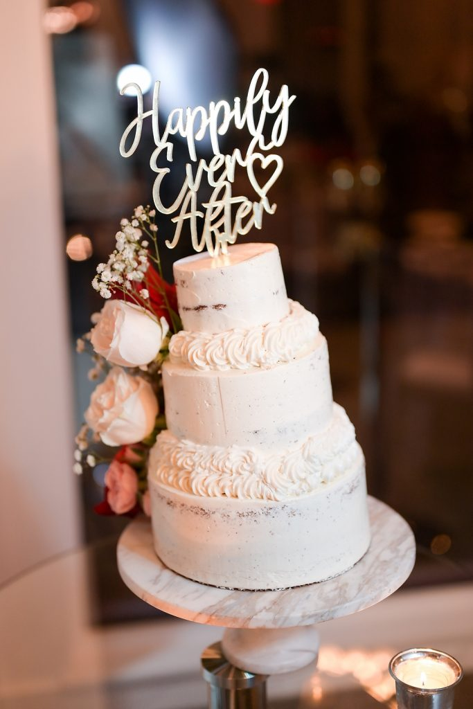 antique loft wedding cake