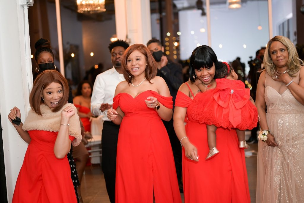 hoboken loft wedding reception by wendy g photography