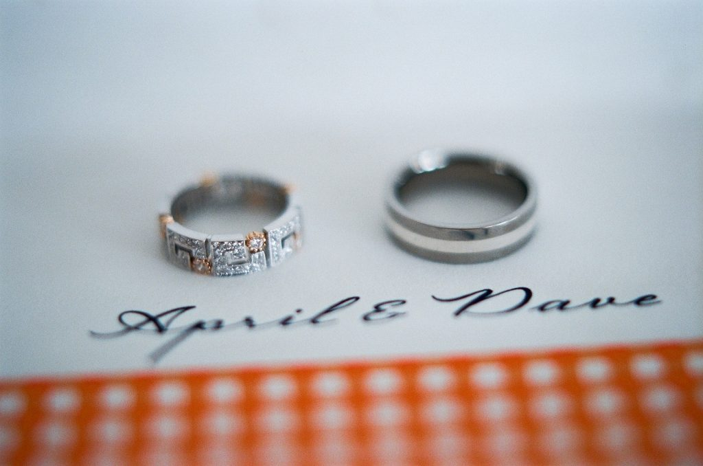 cape cod wedding rings by wendy g photography