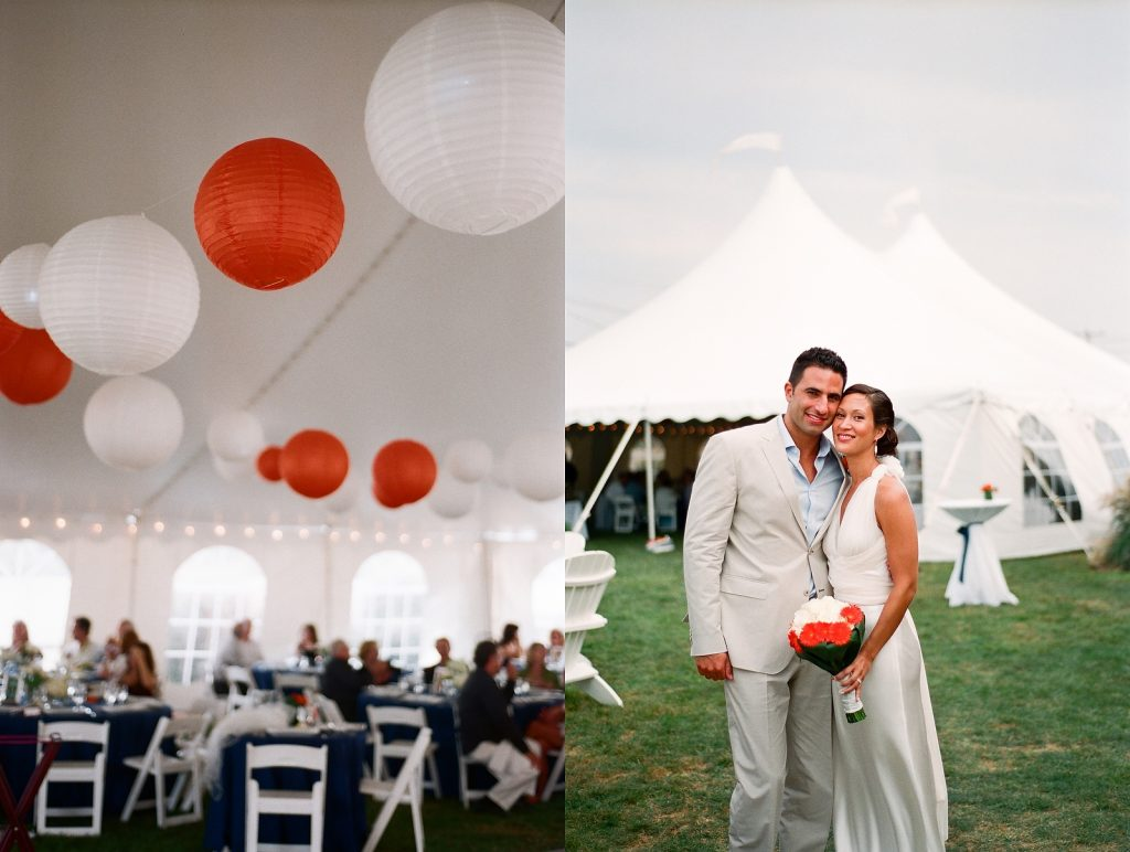 tent venue cape cod wedding on the beach by wendy g photography