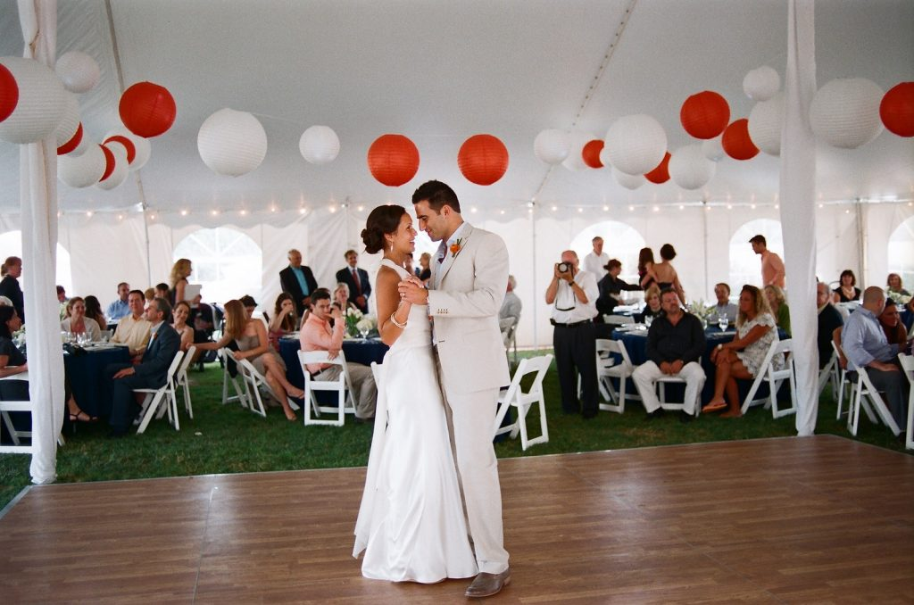 cape cod wedding tent by wendy g photography
