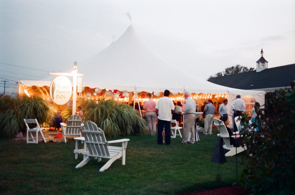 cape cod wedding venue tent by wendy g photography