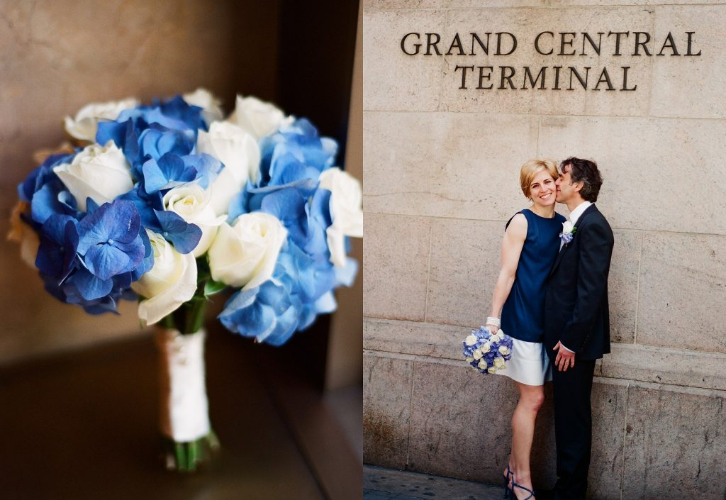 ny city hall wedding portraits at grand central station by wendy g photography