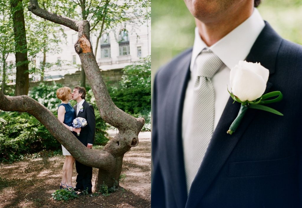 ny city hall wedding portraits in central park by wendy g photography