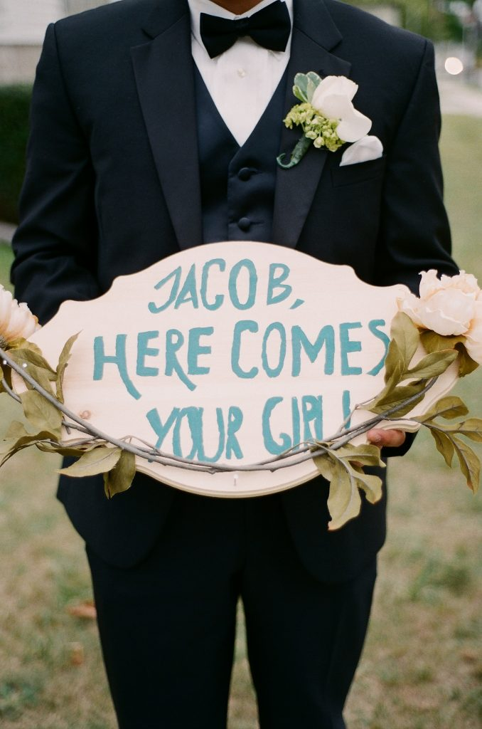 wedding day decor for wedding in south jersey