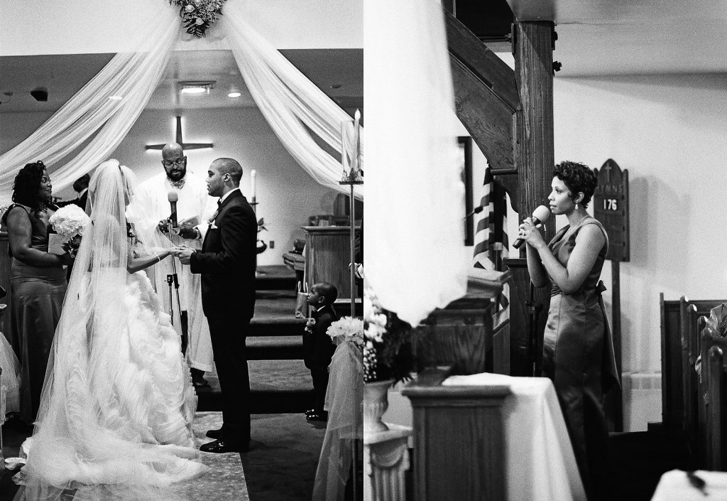 christian church wedding ceremony in south new jersey