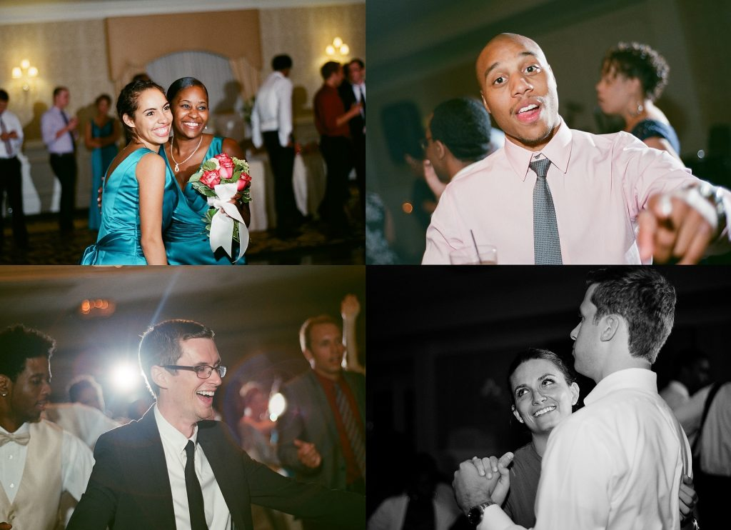 people dancing at wedding reception south jersey